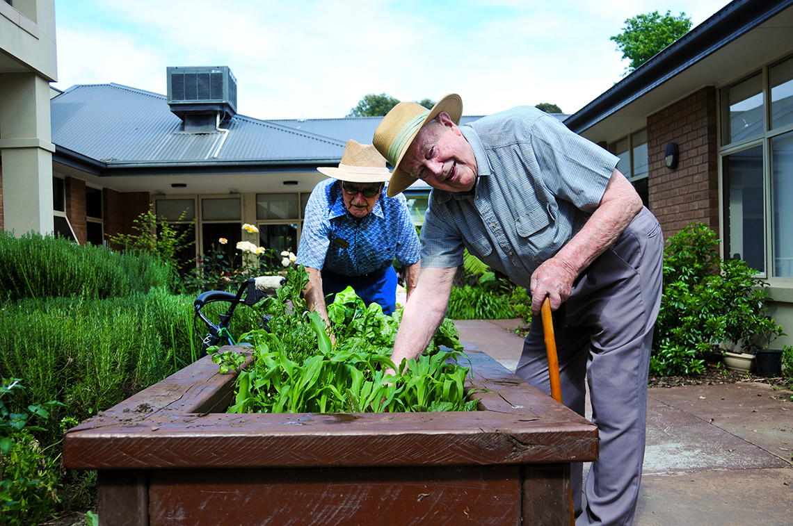 Parklane Aged Care Outdoors